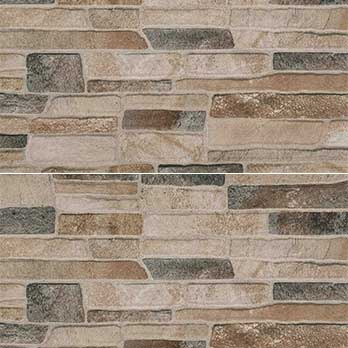 Ceramic Wholesaler Canyon Mix Grey Glazed Porcelain Stone Cladding - Floor Tile