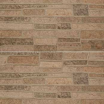 Ceramic Wholesaler Canyon Mix Beige Glazed Porcelain Stone Cladding - Floor Tile