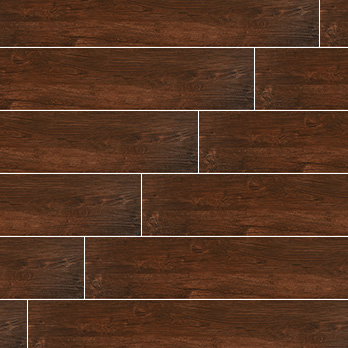 Ceramic Wholesaler Cherry Wood Glazed Ceramic Wood Grain - Floor Tile
